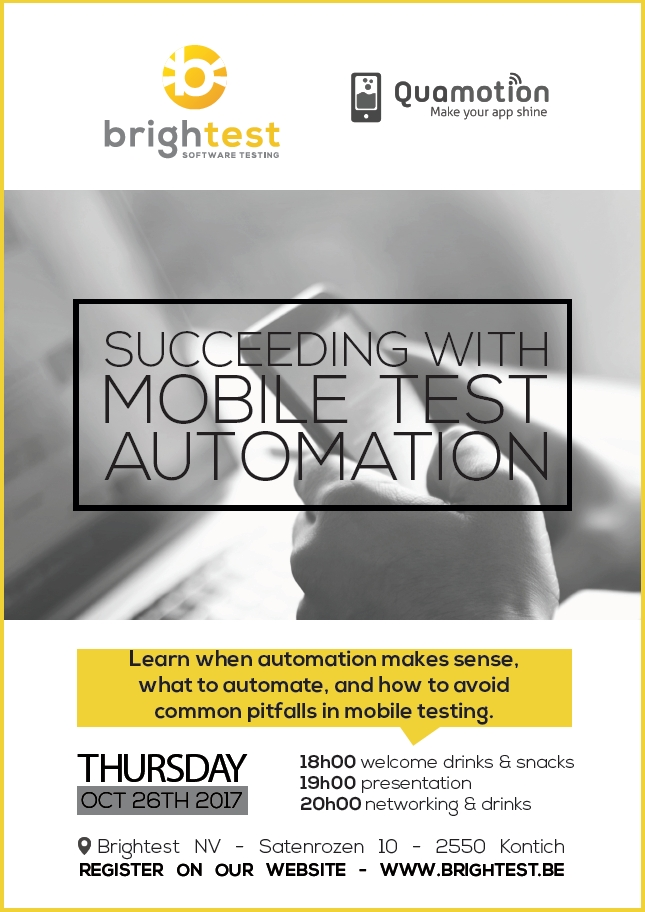Bright Night 3 Succeeding with Mobile test automation