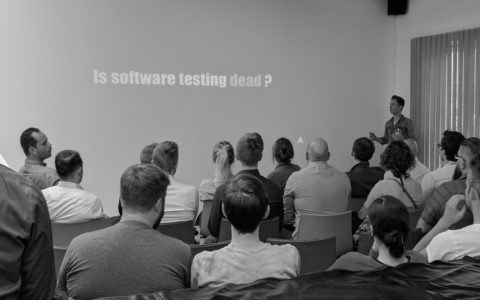 Is software testing dead