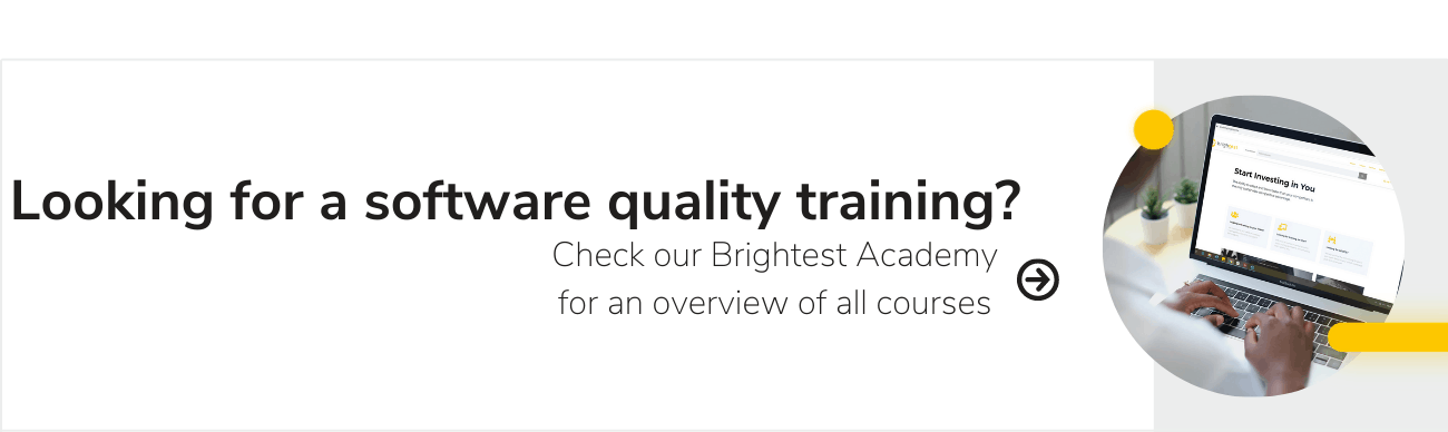banner software quality training
